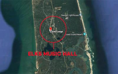Eastham Elks location map