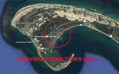 Provincetown Town Hall location map